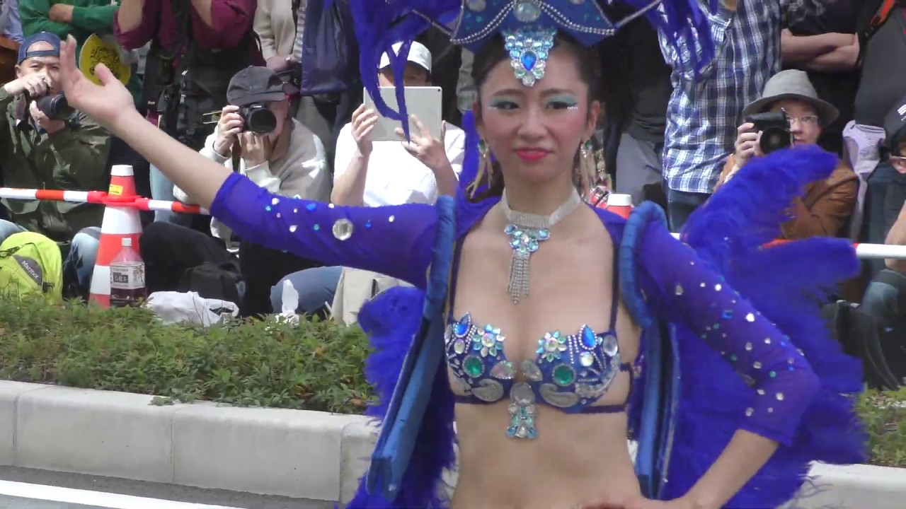 【4K】 神戸まつり2018 サンバ KOBECCO  ⑥ samba