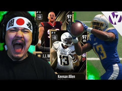 NFL HONORS KEENAN ALLEN & NFL HONORS JJ WATT IN THE SQUAD!! - Madden 18 NFL Honors Gameplay