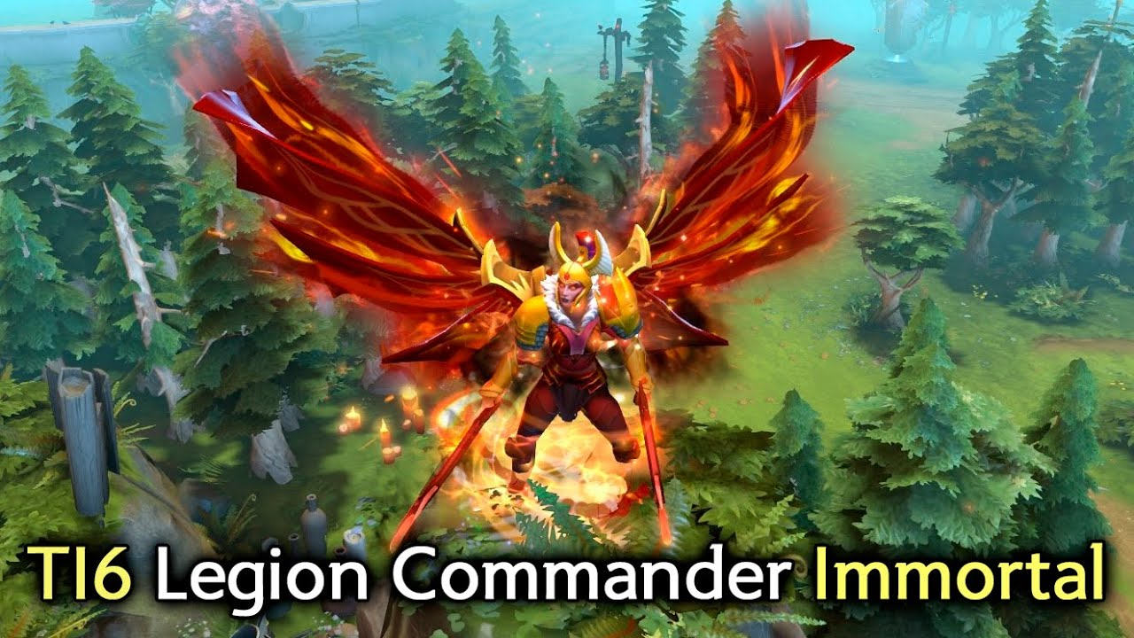 Legion Commander TI6 immortal with Arcana preview — Legacy ...