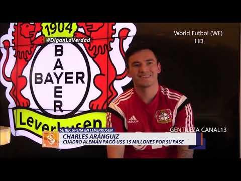Entrevista a Charles Aranguiz Bayer Leverkusen