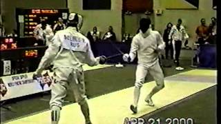 2000 Junior World Fencing Championships, Men