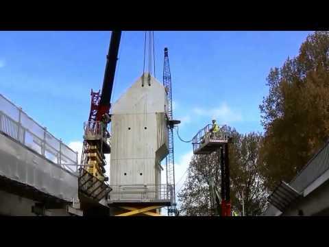 Aanleg Metrolijn naar Hoek van Holland in Schiedam 2017 04 13 deel 1