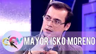 Mayor Isko shares how he managed to live in a small house in the past   GGV
