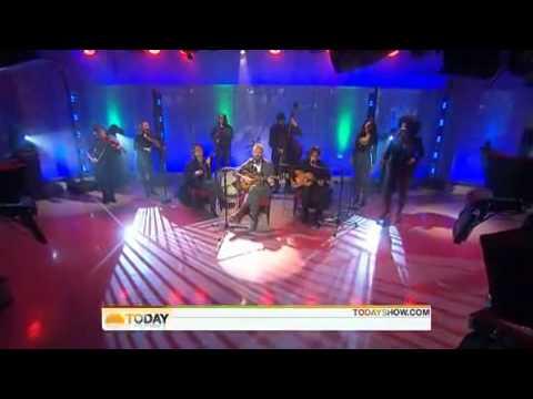 Sting - Soul Cake - Live Today Show NBC - Oct. 27.2009