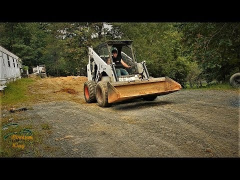 Working On A Bobcat 873