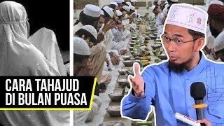 Download Video Cara Shalat Tahajud di Bulan Ramadhan - Ustadz Adi Hidayat LC MA MP3 3GP MP4