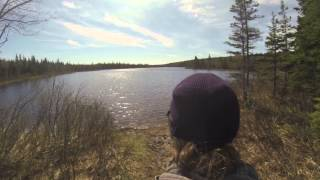 Third person GOpro hiking view of KILLER LAKE! Thumbnail