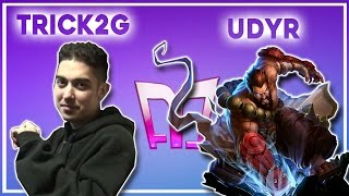 Trick2g - Udyr - Jungle  «Beast» (Challenger) (N)