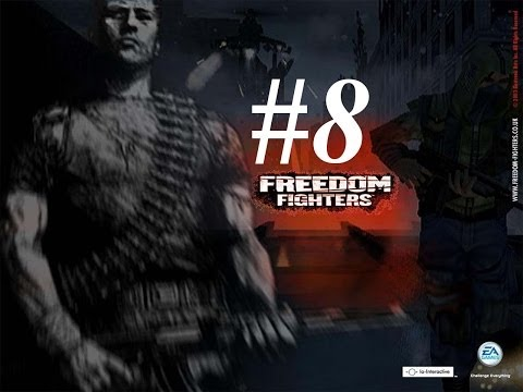 Freedom Fighters - PS2 Walkthrough 8 Gameplay - Manhattan Movie Theater