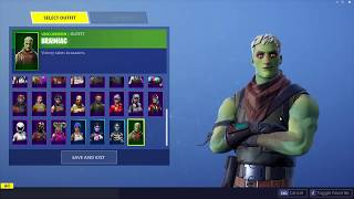 *NEW* Fortnite Brainiac Zombie Skin Leaked