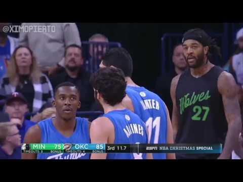 Minnesota Timberwolves vs OKC Thunder   Full Game Highlights  Dec 25, 2016  2016 17 NBA Season