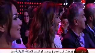 لقاء شريف عامر بنجم #MBCTheVoice ستار سعد بعد دقائق من فوزه باللقب كاملاً