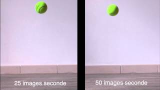 Quelle différence entre un ralenti à 25 images seconde et un autre à 50 images seconde ?