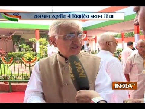 Salman Khurshid Shocking Reactions on PM Modi's Independence Day Speech