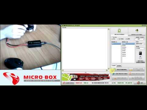 LG KP100 Read Codes with Micro-Box - www.micro-box.com