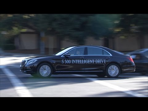 Mercedes-Benz TV: The S 500 INTELLIGENT DRIVE in California.