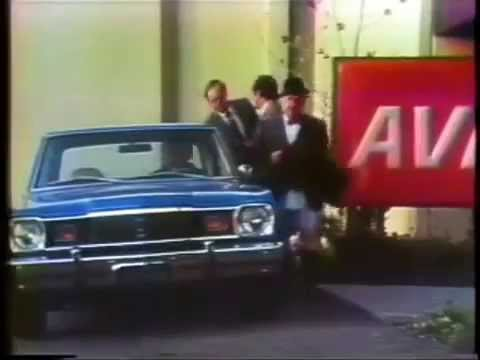 1976 Avis Commercial featuring a Brand New Plymouth Valiant