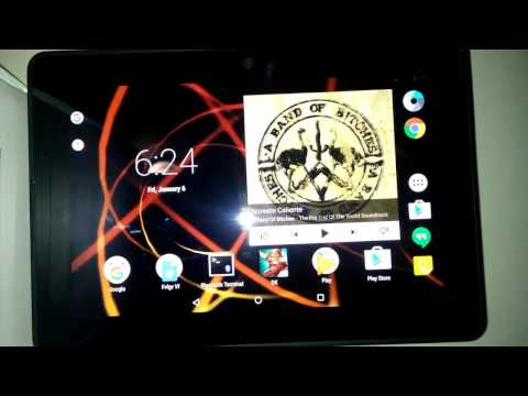 Kindle Fire HDX 7 - AICP - 11.0 Android Marshmallow 6.0.1