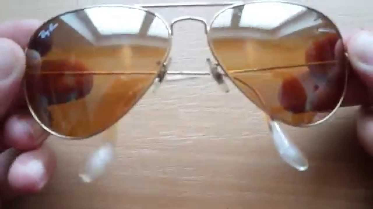 6d5c62c6df Ray-Ban RB3025 001 4F 58-14 Aviator Mirror Sunglasses - YouTube