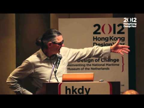"2012 HKDY Master Talks 4: ""The Design of Change"" by Dr. Willem Bijleveld and Uwe Bruckner"