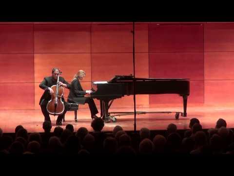Poulenc Sonata for Cello and Piano, Julian Schwarz (cello) Marika Bournaki (piano) LIVE (7/20/15)