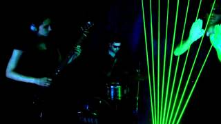 Laser Harp Jam - Beverly Hills Cop (Theme Song)