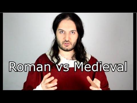 Roman Armour vs Medieval Armour