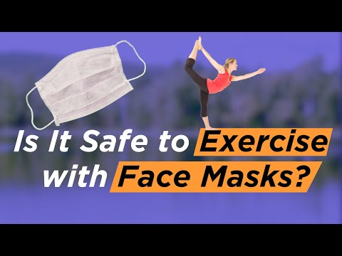 Wearing a mask while exercising can cause health problems