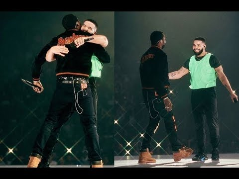 Drake brings out Meek Mill in Boston to Squash their Beef and says 'Meek one of my Fav Rappers'