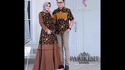 Model Baju Batik Gamis Couple Youtube