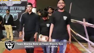 ROBOWAR   INDIA vs CHINA   TAANAJI vs FLAMINGO   IITB Techfest'17   BLANKA BOTZ