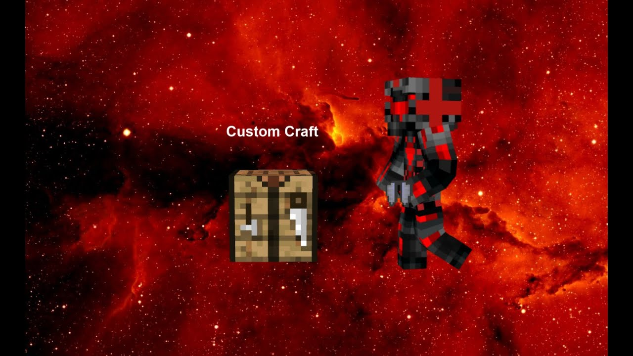 How to make custom crafting in minecraft 1.9