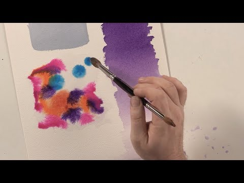 Watercolor Basics: 3 Key Brushstroke Techniques with Paul Jackson
