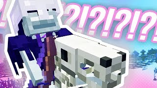 RAREST MINECRAFT SURVIVAL MOB!!!