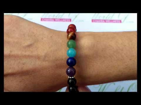 Tree of life Chakra Stone Bracelet