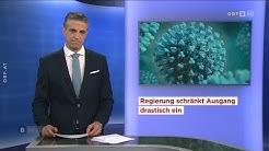 Burgenland, Kärnten und Niederösterreich heute Spezial (15.3.2020) (Coronavirus)