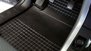 Дешёвый способ очистки ковриков в авто.