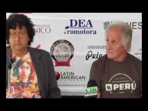 PETE BEST EN CONFERENCIA DE PRENSA EN LIMA