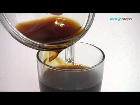 Как приготовить ирландский кофе.