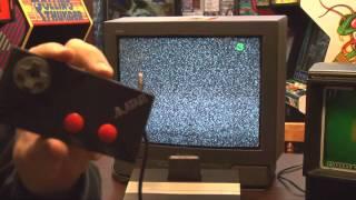 Classic Game Room - HAT TRICK review for Atari 7800