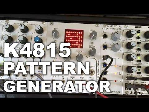 Eurorack - K4815 Pattern Generator
