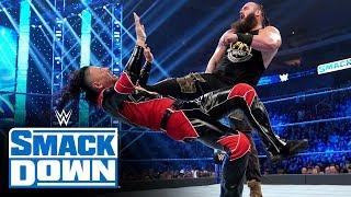 Braun Strowman vs. Shinsuke Nakamura: SmackDown, Jan. 10, 2020