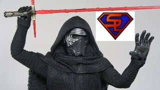 Star Wars The Force Awakens Hot Toys Kylo Ren Movie Masterpiece 1/6 Scale Collectible Figure Review