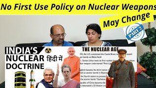 India's Nuclear Doctrine and Policy - Threats and Capabilities Part 2 | Study IQ | Reaction !!