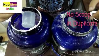 Ultimate nutrition Prostar 100% whey protein | unboxing | Genuine vs fake : must watch thumbnail