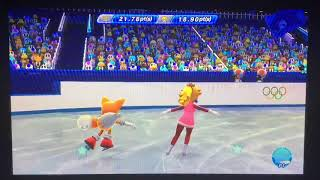 Mario & Sonic at the Sochi 2014 Olympic Winter Games Figure Skating Pairs 277