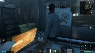 Deus Ex  Mankind Divided weird glitch
