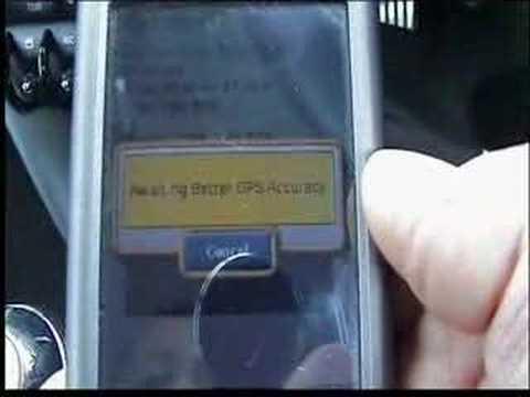 Garmin Mobile XT - In action