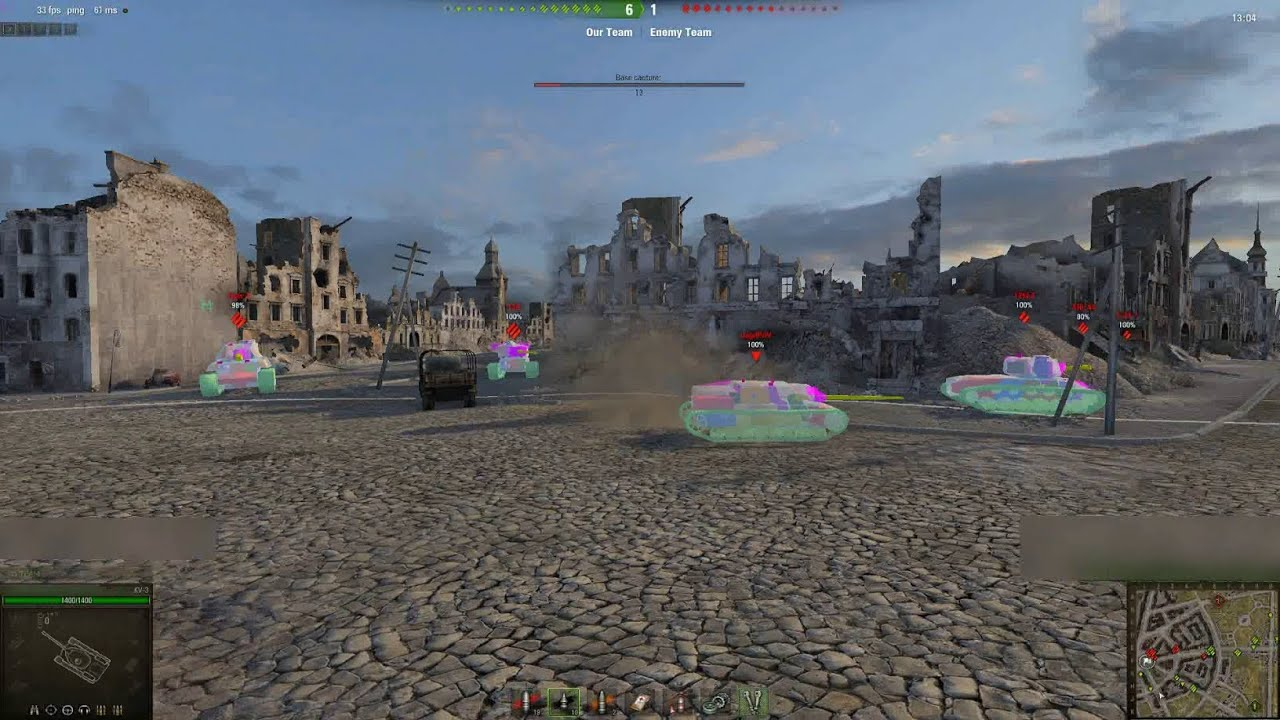 wot hitbox mods plz ban this and skin - General Discussion - World