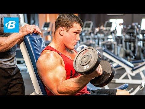 Build Massive Arms | Hunter and Lee Labrada